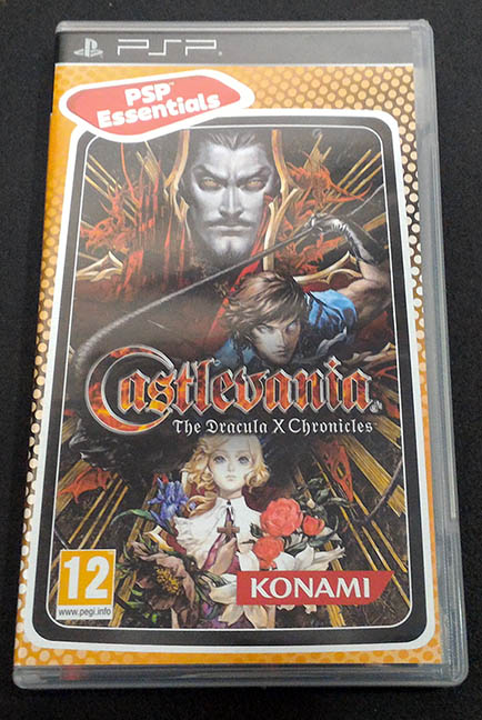 Castlevania: The Dracula X Chronicles PSP