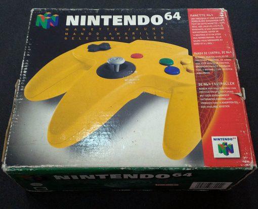 AcessórioUsado Nintendo 64 Comando Amarelo