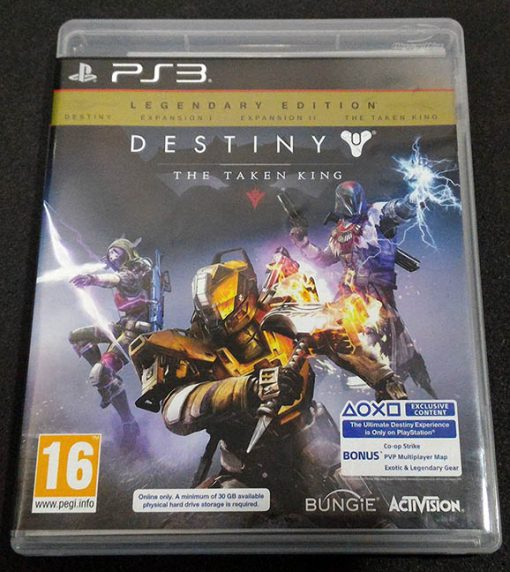 Destiny: The Taken King - Legendary Edition PS3