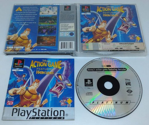 Disney Action Game Featuring Hercules PS1