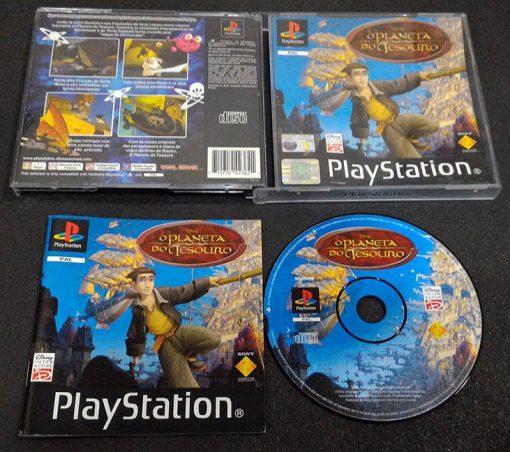 Disney O Planeta do Tesouro PS1