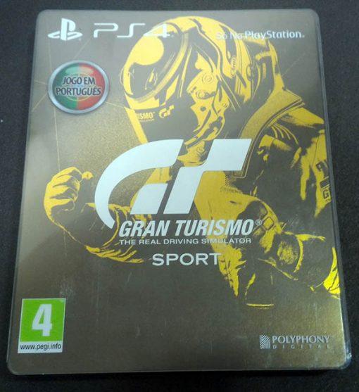 Gran Turismo Sport - Steelbook PS4