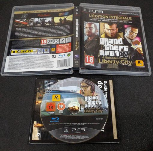 Grand Theft Auto IV & Episodes From Liberty City – The Complete Edition FR PS3