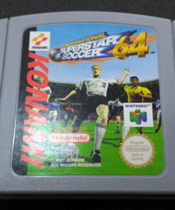 International Superstar Soccer 64 N64