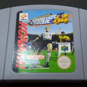 International Superstar Soccer 64 N64