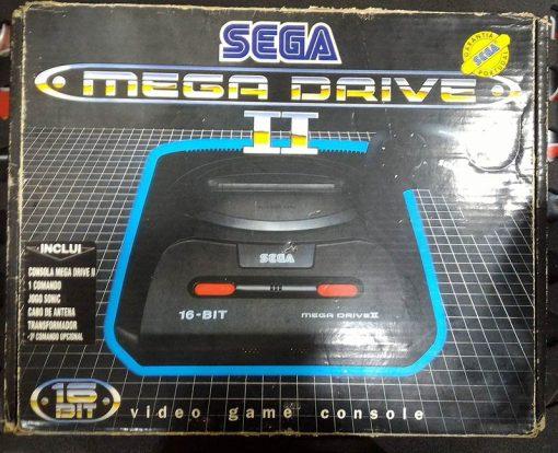 Consola Usada Sega Mega DriveII- Pack Sonic