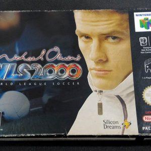 Michael Owen's WLS 2000 World League Soccer N64