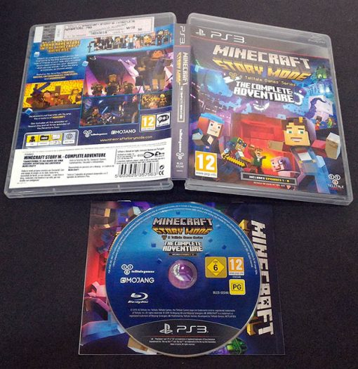 Minecraft: Story Mode - The Complete Adventure PS3
