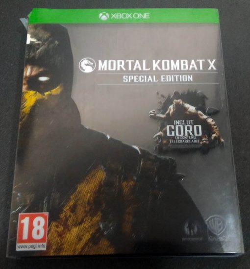 Mortal Kombat X - Steelbook XONE