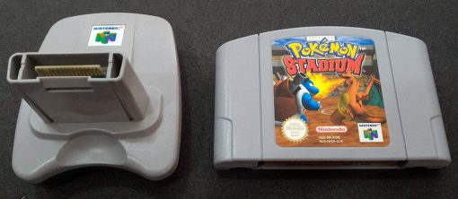 Pokémon Stadium + Transfer Pak N64