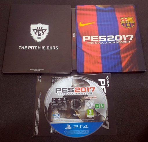 Pro Evolution Soccer 2017 - Steelbook PS4