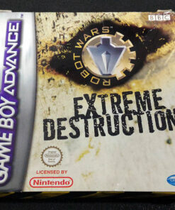 Robot Wars: Extreme Destruction GAME BOY ADVANCE