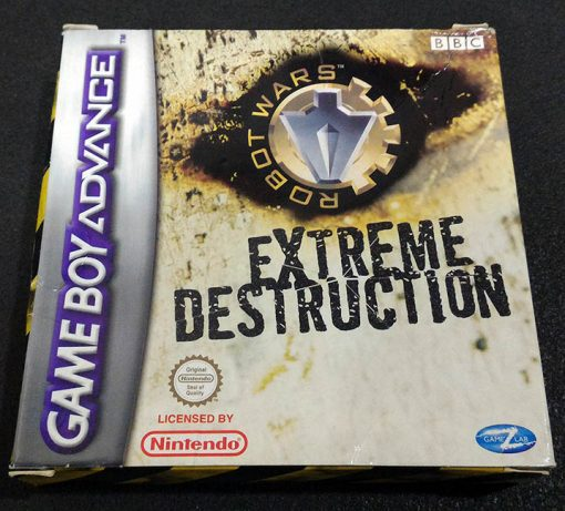 Robot Wars: Extreme Destruction GAME BOY ADVANCE