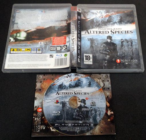 Vampire Rain: Altered Species PS3