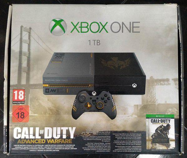 Consola Usada Xbox One 1TB - Edição Especial Call of Duty Advanced Warfare