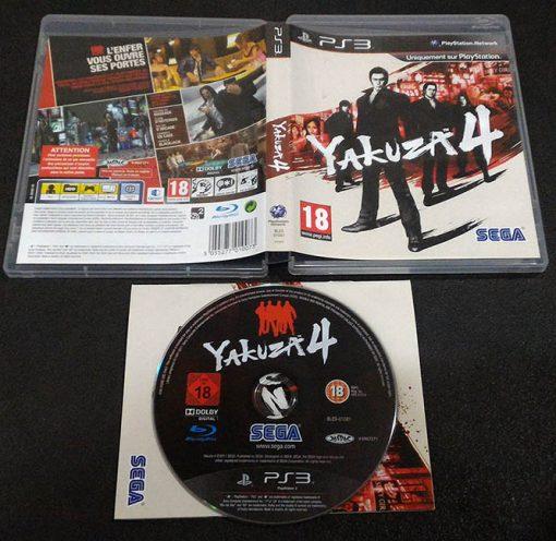 Yakuza 4 FR PS3