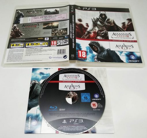 Assassin's Creed II - GOTY + Assassin's Creed PS3