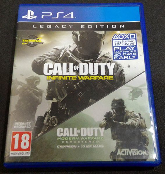 Call of Duty: Infinite Warfare - Legacy Edition PS4