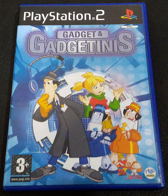 Gadget & Gadgetinis PS2
