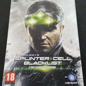 Splinter Cell: Blacklist - The Ultimate Edition PS3