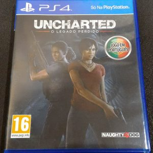 Uncharted: O Legado Perdido PS4