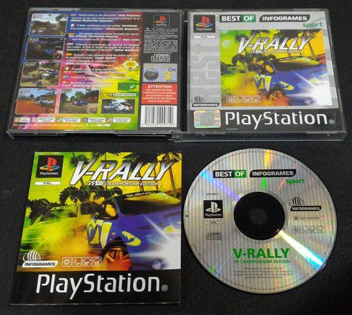 V-Rally PS1