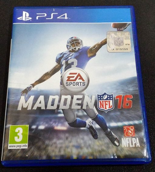 Madden NFL 16 PS4