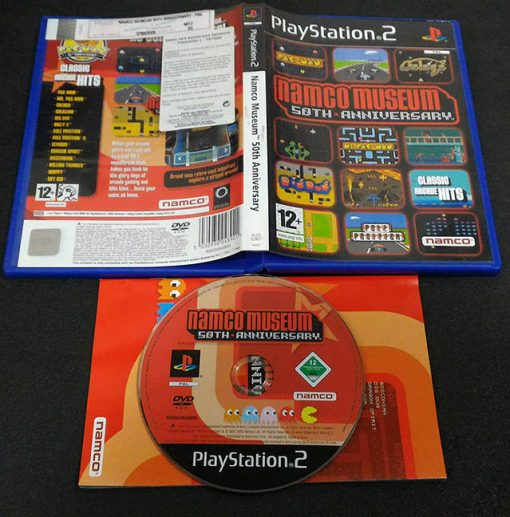 Namco Museum 50th Anniversary PS2