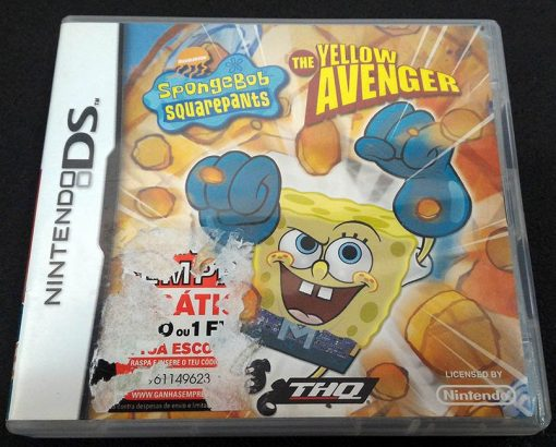 SpongeBob Squarepants: The Yellow Avenger NDS