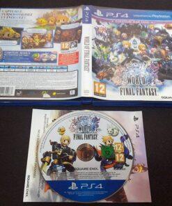 World of Final Fantasy FR PS4