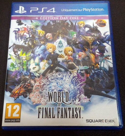 World of Final Fantasy FR PS4