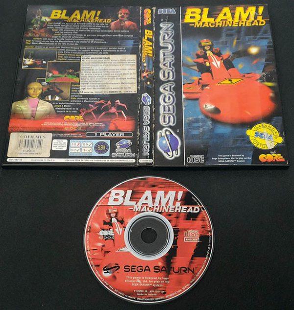 Blam! Machinehead SEGA SATURN