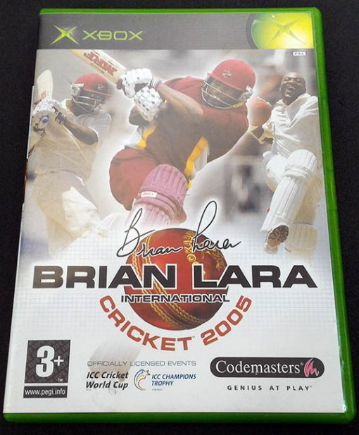 Brian Lara International Cricket 2005 XBOX