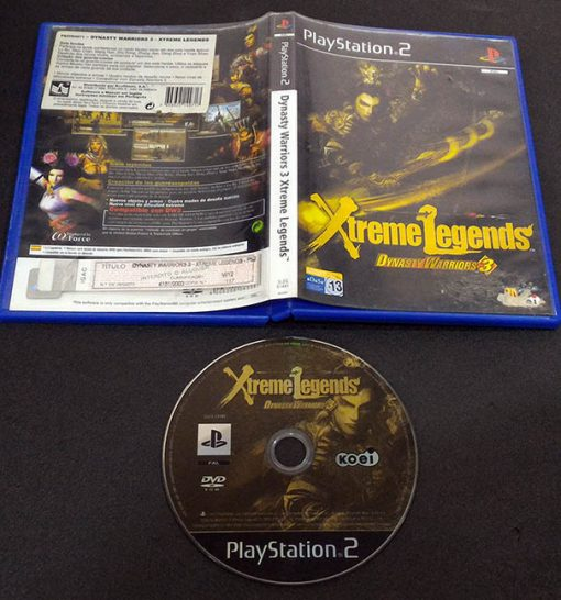 Dynasty Warriors 3: Xtreme Legends PS2