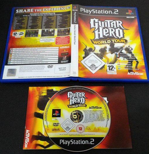 Guitar Hero World Tour PS2
