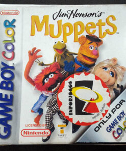 Jim Henson's The Muppets GAME BOY COLOR