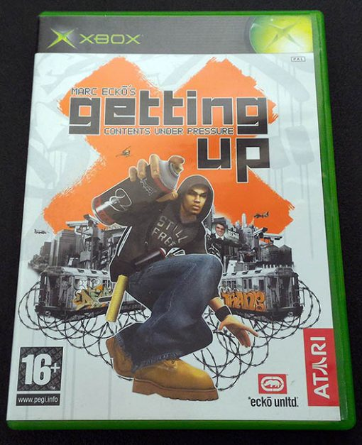 Marc Ecko's Getting Up XBOX