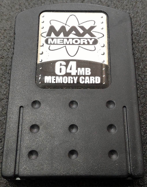 Acessório Usado Memory Card Genérico 64MB Playstation 2