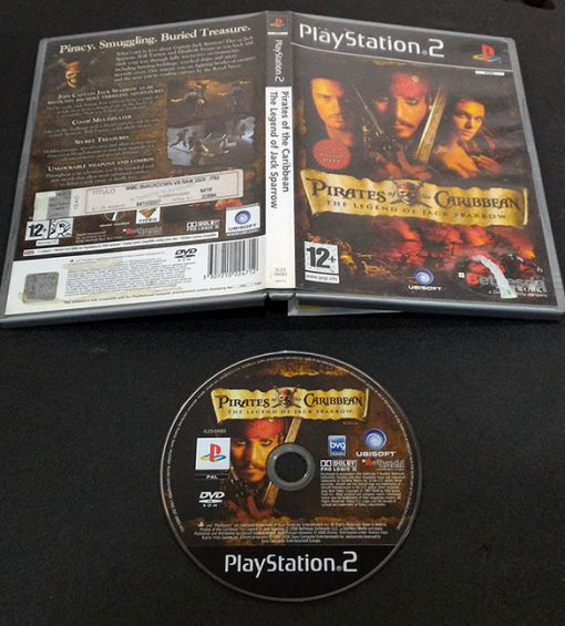 Pirates of the Caribbean: Legend of Jack Sparrow PS2