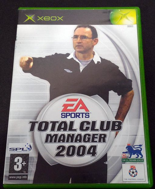 Total Club Manager 2004 XBOX