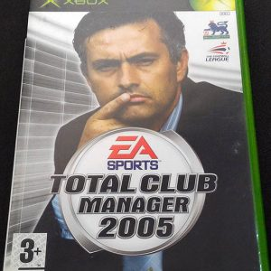 Total Club Manager 2005 XBOX