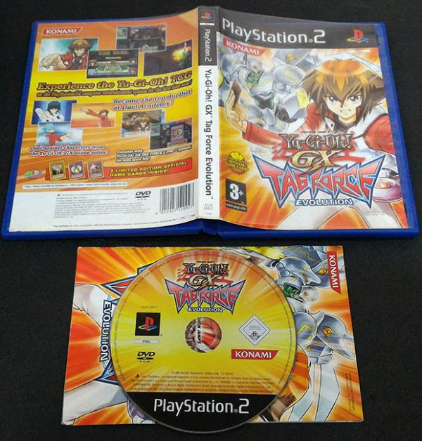 Yu-Gi-Oh!: GX Tag Force Evolution PS2