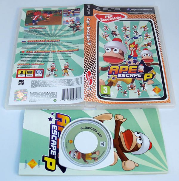 Ape Escape P PSP