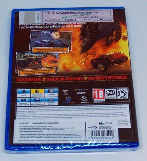 Carmageddon: Max Damage PS4