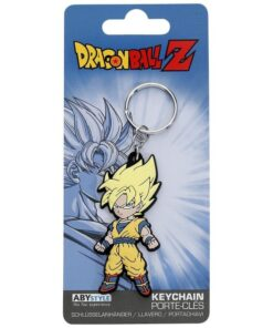 DRAGON BALL - Keychain PVC Goku Super Saiyan MERCH