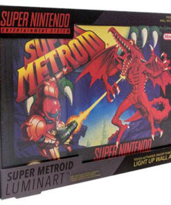 NINTENDO - Luminart Super Metroid MERCH