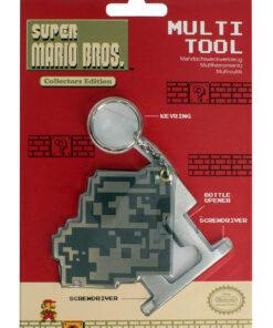 NINTENDO - Super Mario Bros. Multi-tool Keychain MERCH