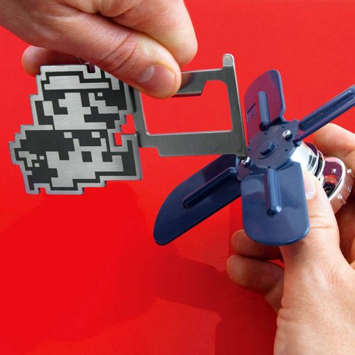 NINTENDO - Super Mario Bros. Multi-tool Keychain MERCH