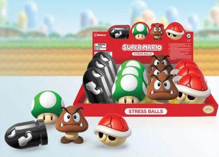 NINTENDO - Super Mario Stress Balls Series 2 MERCH
