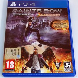 Saints Row IV: Re-Elected + Gat Out of Hell PS4